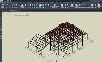 Autodesk Advance Steel Stahlkonstruktion
